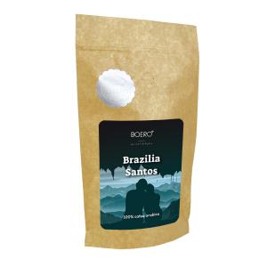 Brazilia Santos, cafea macinata proaspat prajita Boero, 350 grame