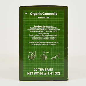 Camomile, ceai organic Julius Meinl, Big Bags