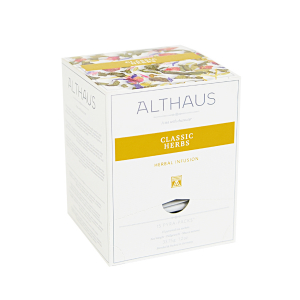 Classic Herbs, ceai Althaus Pyra Packs