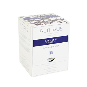 Earl Grey Classic, ceai Althaus Pyra Packs