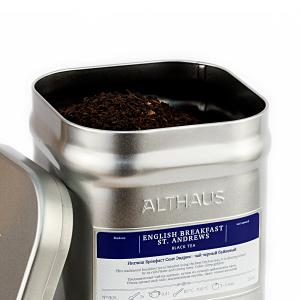 English Breakfast St. Andrews, ceai Althaus Loose Tea, 250 grame