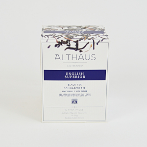 English Superior, ceai Althaus Pyra Packs
