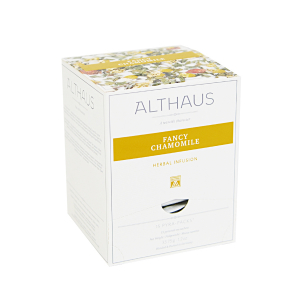 Fancy Chamomile, ceai Althaus Pyra Packs