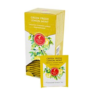 Green Fresh Lemon Mint, ceai Julius Meinl - 25 plicuri