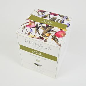 Grun Matinee, ceai Althaus Pyra Packs