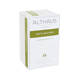 Grun Matinee, ceai Althaus Deli Packs