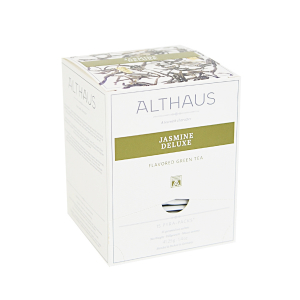 Jasmine Deluxe, ceai Althaus Pyra Packs