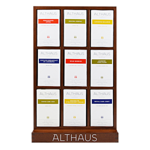 Pachet Display Althaus si 9 cutii ceai Althaus Deli Packs