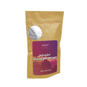 Salvador Volcan del Chingo, cafea macinata proaspat prajita Boero, 100 grame