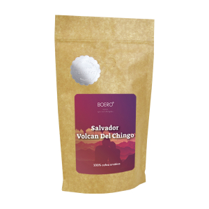 Salvador Volcan del Chingo, cafea boabe proaspat prajita Boero, 250 grame