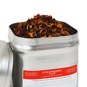 Strawberry Flip, ceai Althaus Loose Tea, 250 grame