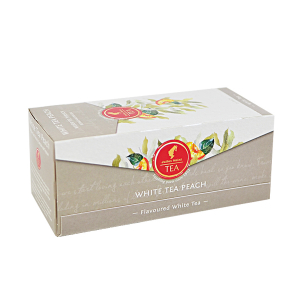 White Tea Peach, ceai Julius Meinl - 25 plicuri