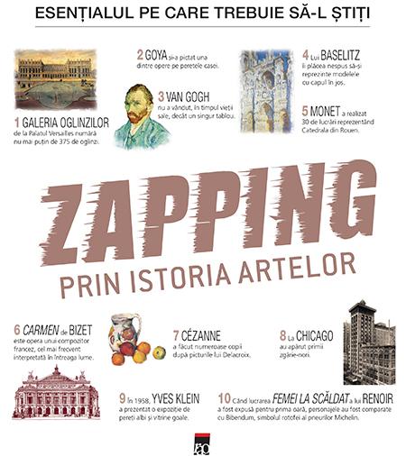 Zapping prin istoria artelor Gerard Denizeau