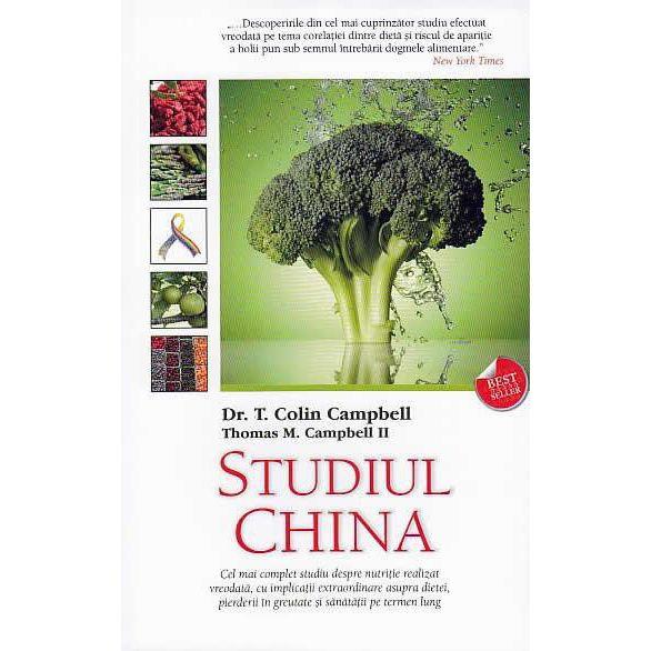 Studiul China de Colin Campbell, Thomas M. Campbell