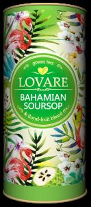 Bahamian soursop Amestec de ceai verde, soursop (graviola) si petale de flori de la Lovare