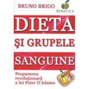 Dieta si grupele sanguine de Bruno Brigo