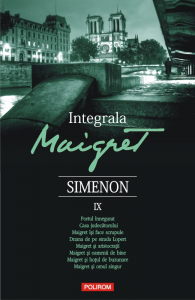 Integrala Maigret IX de Georges Simenon