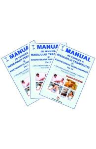 Manual de tehnica a masajului terapeutic si kinetoterapia complementara. Vol.1+2+3 de Anghel Diaconu