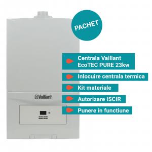 Pachet Vaillant EcoTec Pure