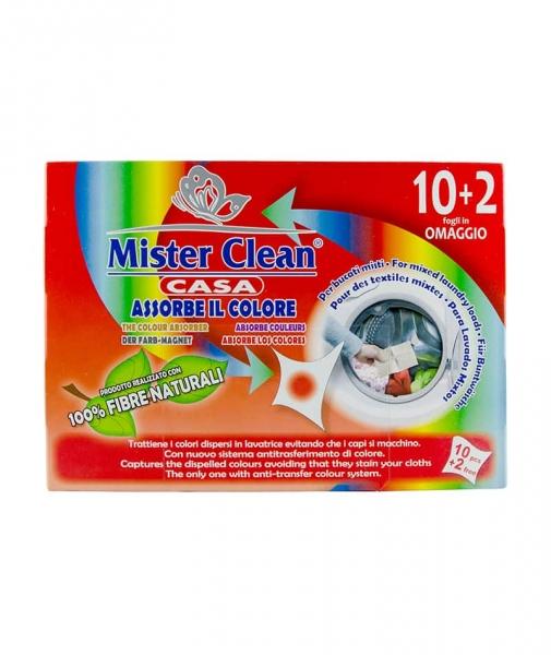 Servetele captare culoare, Mister Clean,12 buc