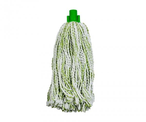 Mop microfibra si bumbac, verde,175 g
