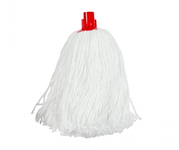 Mop 100 % microfibra alb, fir subtire, 175 g
