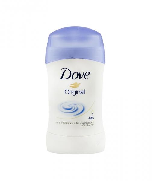 Deodorant antiperspirant Dove Original pentru femei, stick, 40 ml