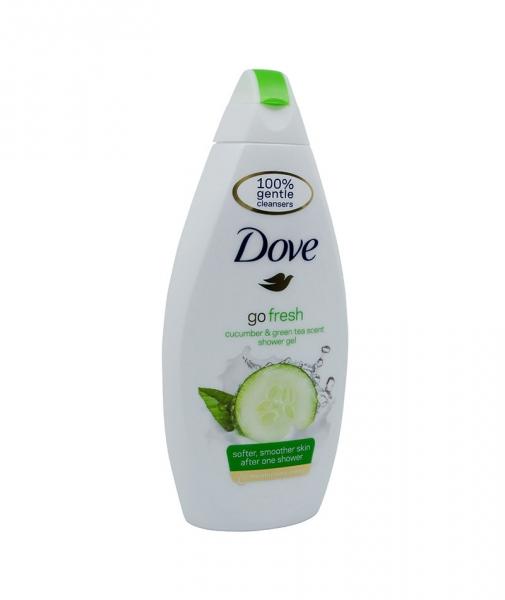 Dove - Gel de dus Fresh Touch, 500 ml