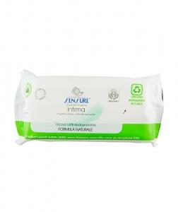 Servetele umede pentru igiena intima Sensure Bio, 12 buc