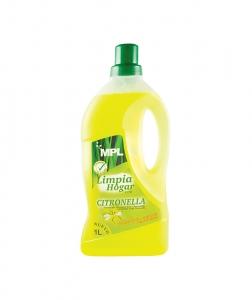 Detergent pardoseala repelent tantari, Citronella, 1L