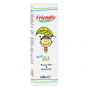 Ulei Bebe Friendly Organic, 100 ml