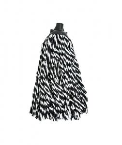 Mop bumbac bicolor Zebra, 250g