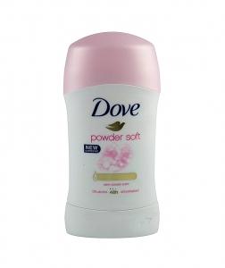 Deodorant antiperspirant Dove Powder Soft, stick, 40 ml