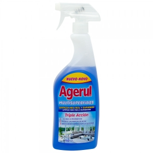 Detergent multisuprafete Triple Acction, Agerul, 750 ml