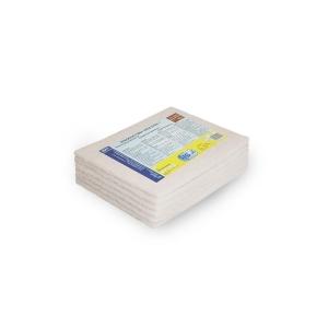 Laveta fibra abraziva alba non-scratch 6 buc/pac