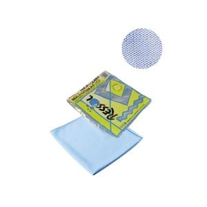 Laveta geam microfibra, albastra
