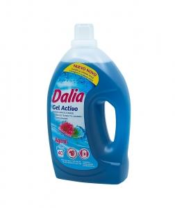 Detergent gel activ rufe albe si colorate, Dalia, 3 L