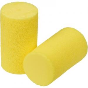 Antifoane interne din burete poliuretanic Ear Classic Soft, cilindrice, nelegate