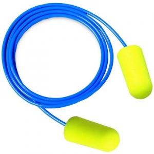 Antifoane interne din burete poliuretanic Ear Soft, conice, legate