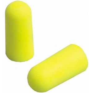 Antifoane interne din burete poliuretanic Ear Soft, conice, nelegate