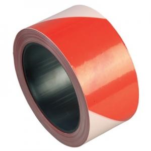 Banda delimitare alb-rosu, 70 mm latime, 200 m lungime