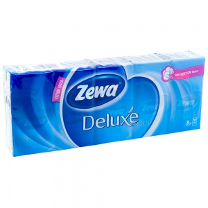 Batiste nazale Zewa Deluxe, 10 buc /set, 3 straturi