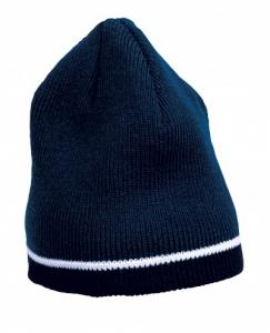 Caciula tricotata acryl, albastru