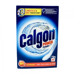 Calgon pudra anticalcar, 2in1 Protect & Clean, 20 spalari