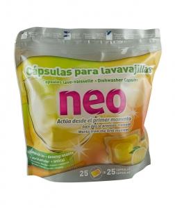 Detergent de vase capsule, 25 buc/pach