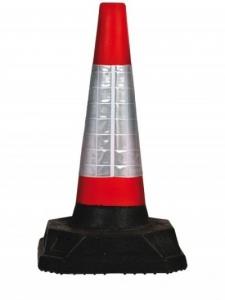 Con semnalizare PVC, inaltime 75 cm