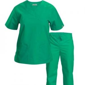 Costum tercot pentru medici, maneca scurta