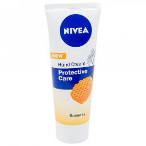 Crema de maini, Nivea, Protective Care cu Ceara de albine, 75 ml