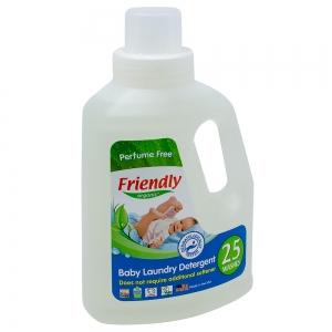 Detergent Rufe Bebe – Fara Miros Friendly Organic, 739 ml, 25 spalari