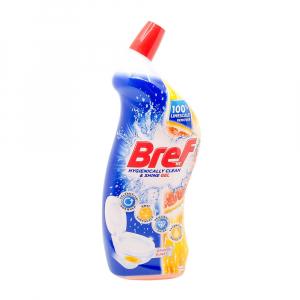Dezinfectant toaleta Bref Gel Orange Burst 700 ml